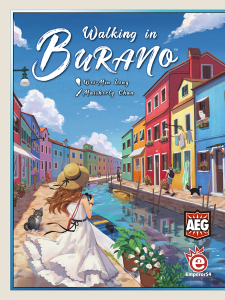 Walking In Burano - Cover