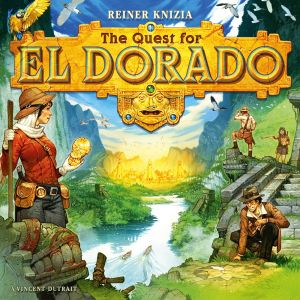 The Quest for El Dorado - Cover
