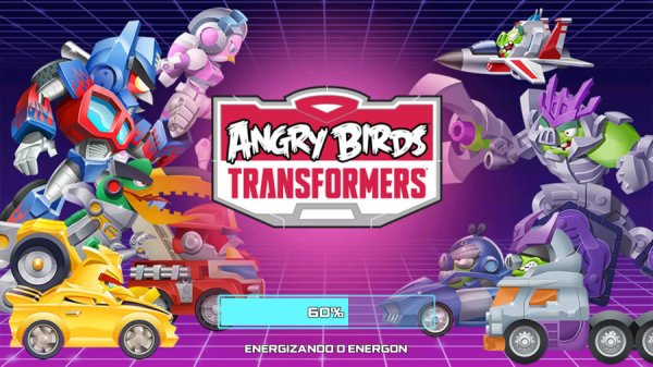 Angry Birds Transformers - Capa