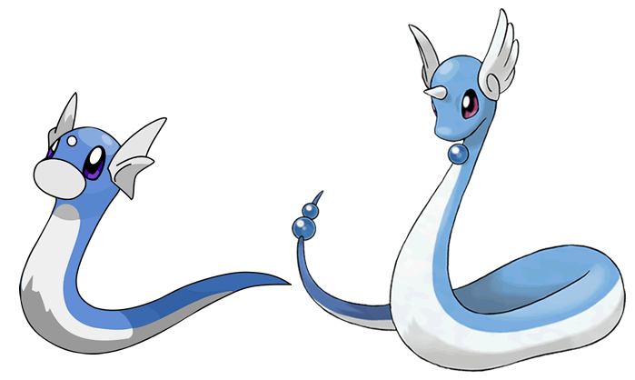 dratini to dragonair