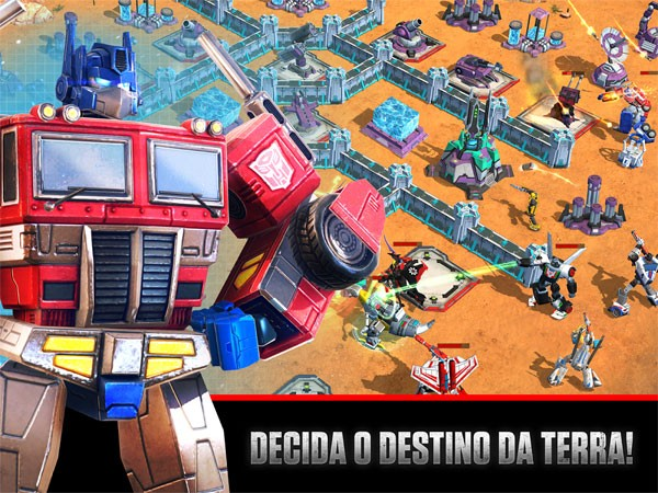 Transformers Earth Wars - Android e iOS