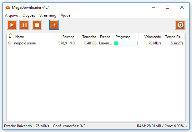 MEGA Downloader v1.7