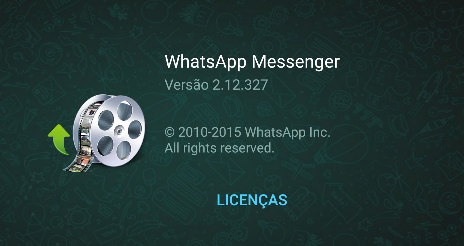 WhatsApp com limite de upload aumentado