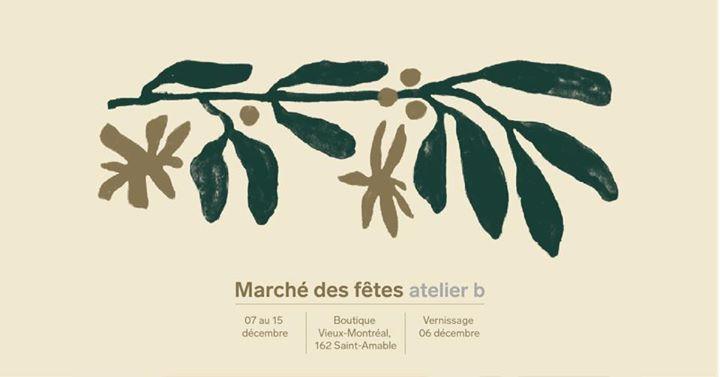 Marché des fêtes atelier b dans le Vieux-Mtl @ atelier b | Montreal | QC | Canada