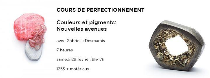 Cours de perfectionnement: Couleurs et pigments @ École de joaillerie de Montréal | Montreal | QC | Canada