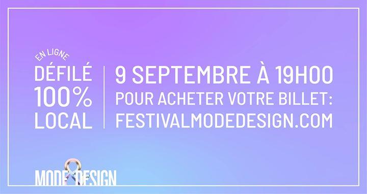 Défilé 100% local en ligne @ Festival Mode & Design | Montreal | QC | Canada