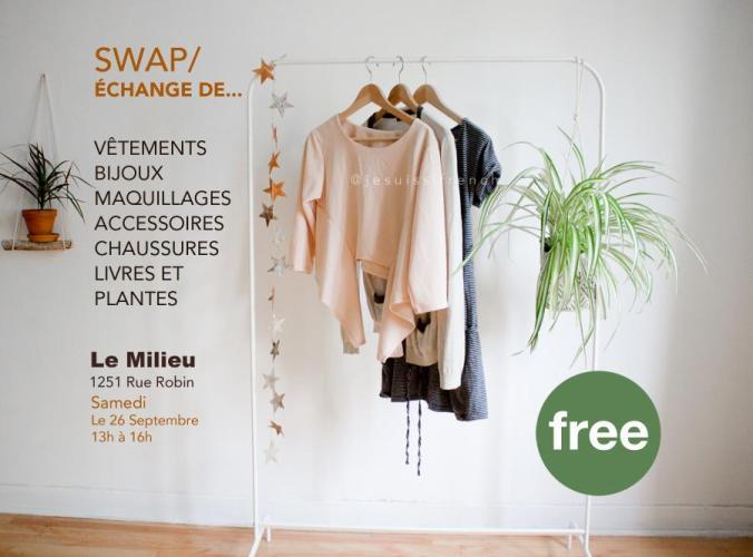 Clothing Swap / Échange de vêtements @ Co-op Le Milieu | Montréal | QC | CA