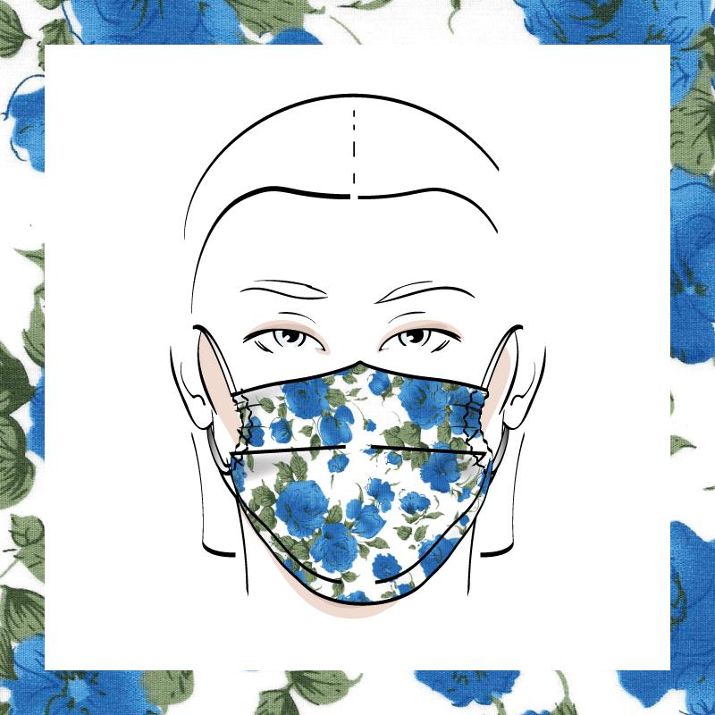Couvre-visage 3 épaisseurs | Le 241