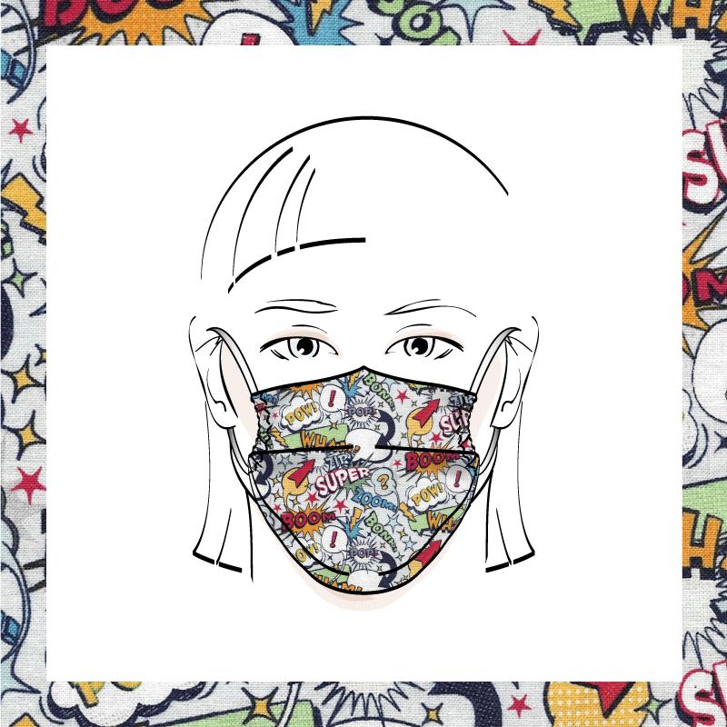Couvre-visage 3 épaisseurs | Le 382