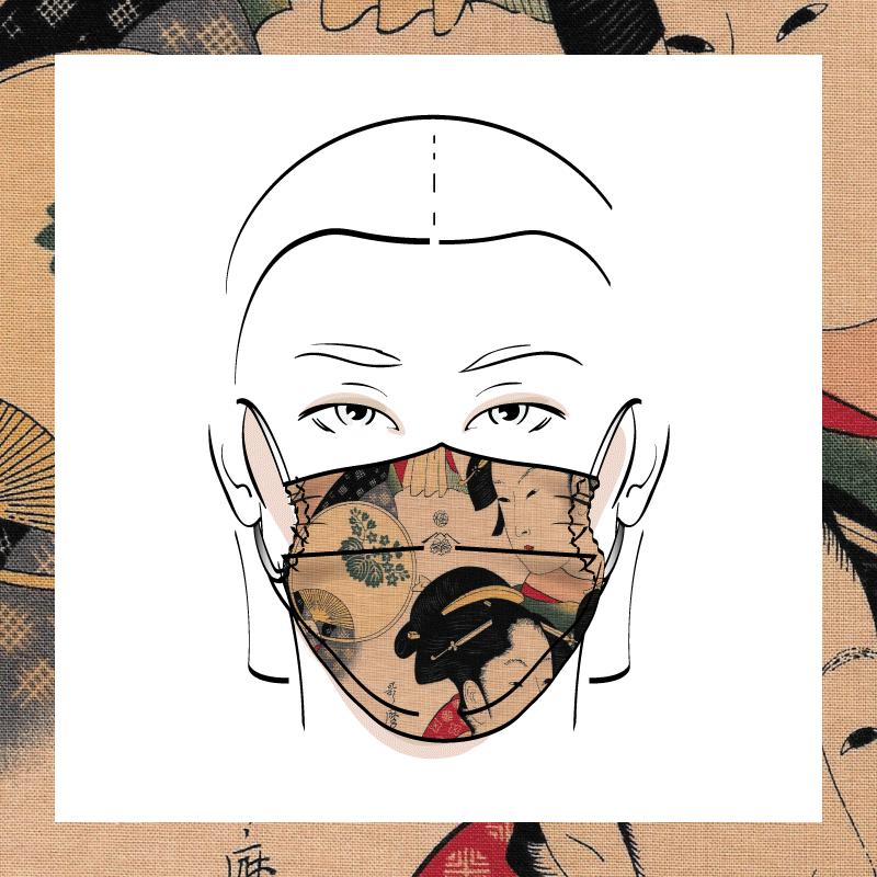 Couvre-visage 3 épaisseurs | Le 388