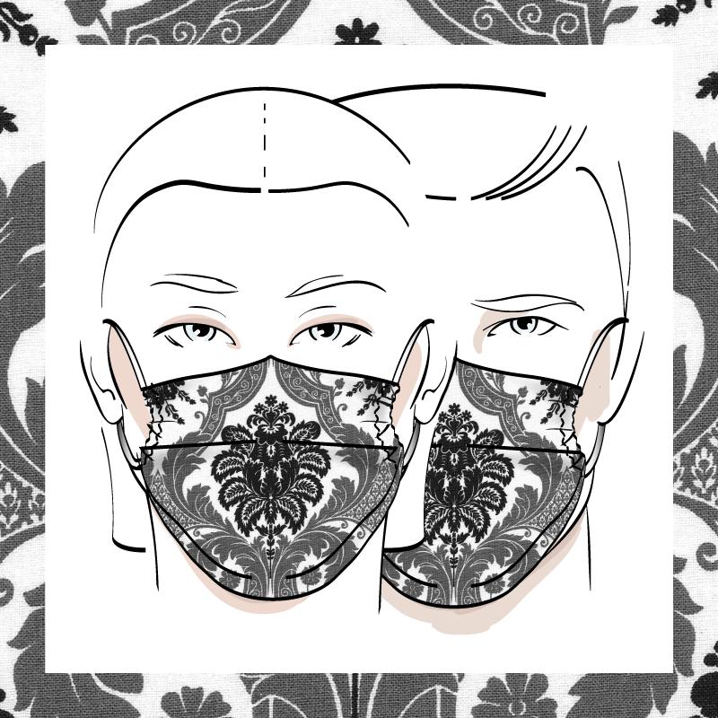 Couvre-visage 3 épaisseurs | Le 402