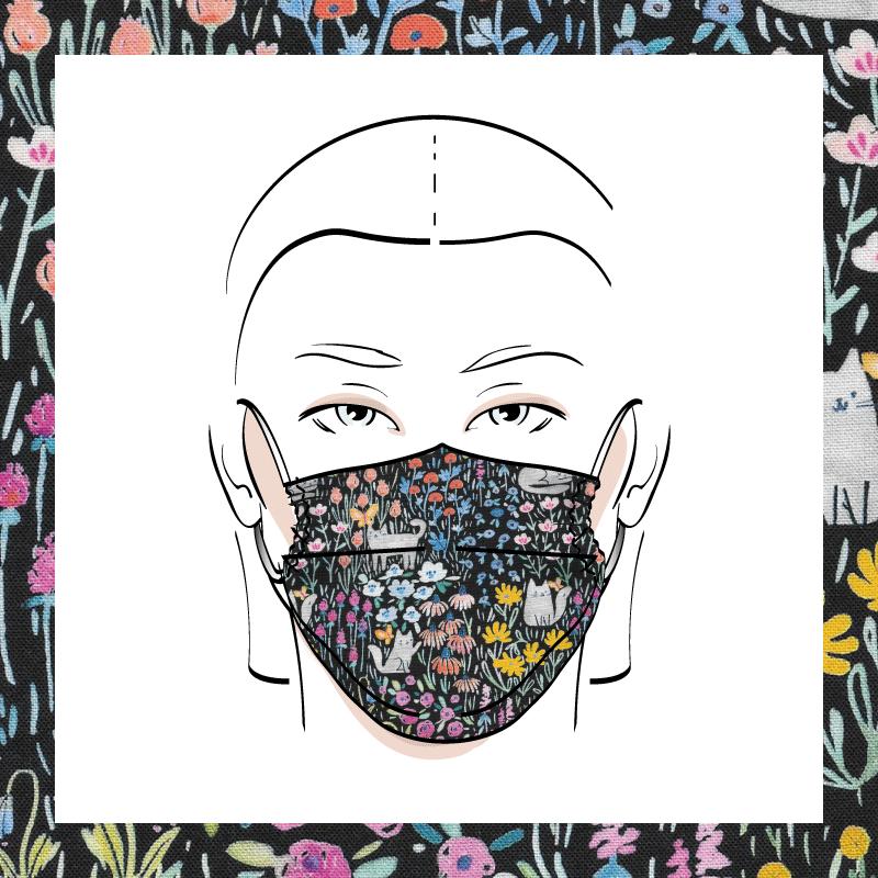 Couvre-visage 3 épaisseurs | Le 409