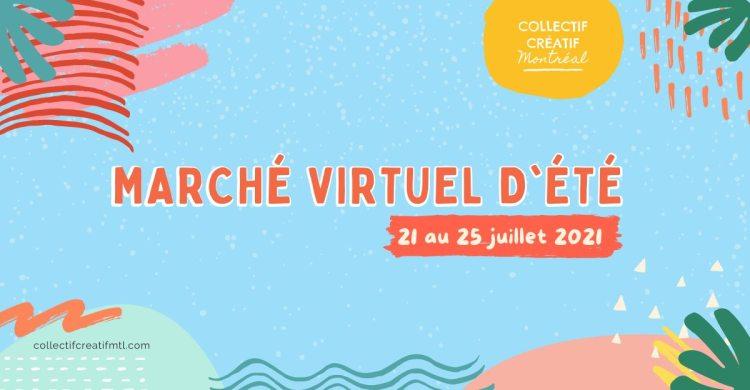 Marché virtuel d'été // Summer virtual market - Collectif Créatif EtsyMTL @ Quebec Canada | Montreal | QC | Canada