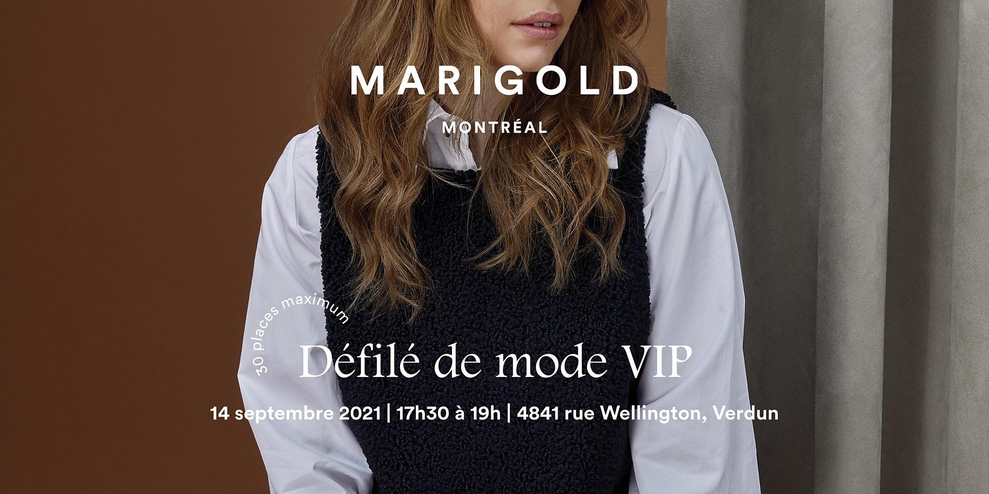 Défilé VIP MARIGOLD (Semaine Mode de Montréal)
