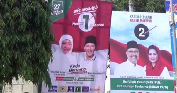 calon Gubernur/Wakil Gubernur Jawa Timur.