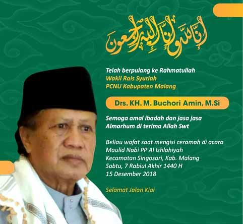 Mantan Wakil Ketua DPRD Kabupaten Malang Meninggal Saat Ceramah Agama