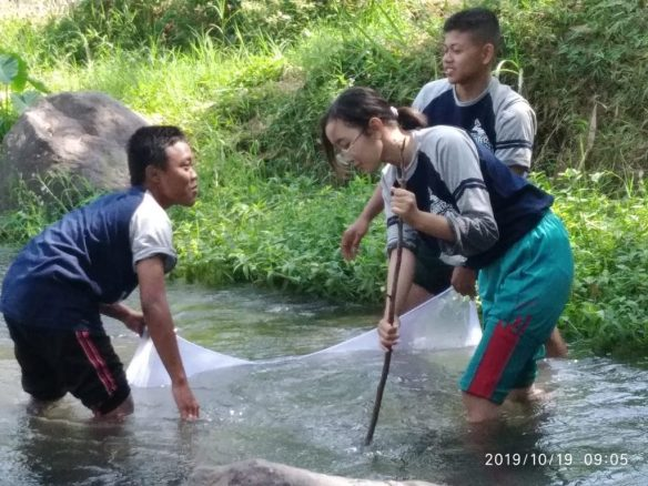 SMAMSA Masuk Sekolah JKPKA, Siswa-Guru Dilatih Jasa Tirta Sebagai Ahli Bioassessment 1