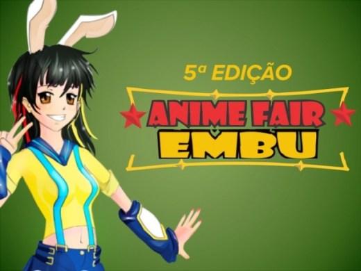 Cartaz Anime Fair Embu 2018