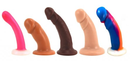 Suction cup dildo