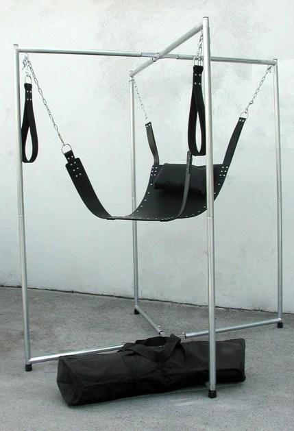4-Point Bondage Sling Stand