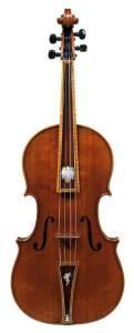Baroque viola tenor Strad