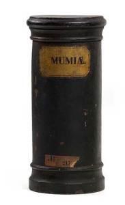 19th Century pigment Mummia violin making