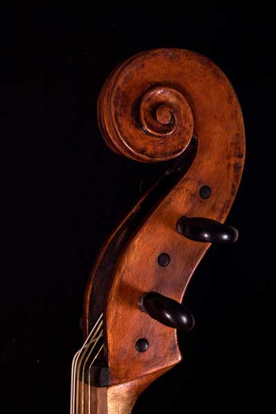 Baroque cello - Basse de Violon - Violoncello piccolo, 5 string cello