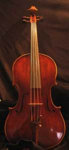 Dragons blood varnish 17inch viola