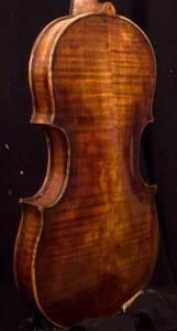 Stainer violin back