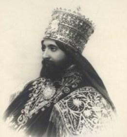 Haile Selassie with Triple Crown
