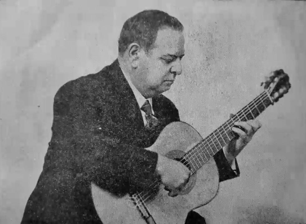 Julio Salvador Sagreras Nr. 1 aus Las segundas lecciones de guitarra