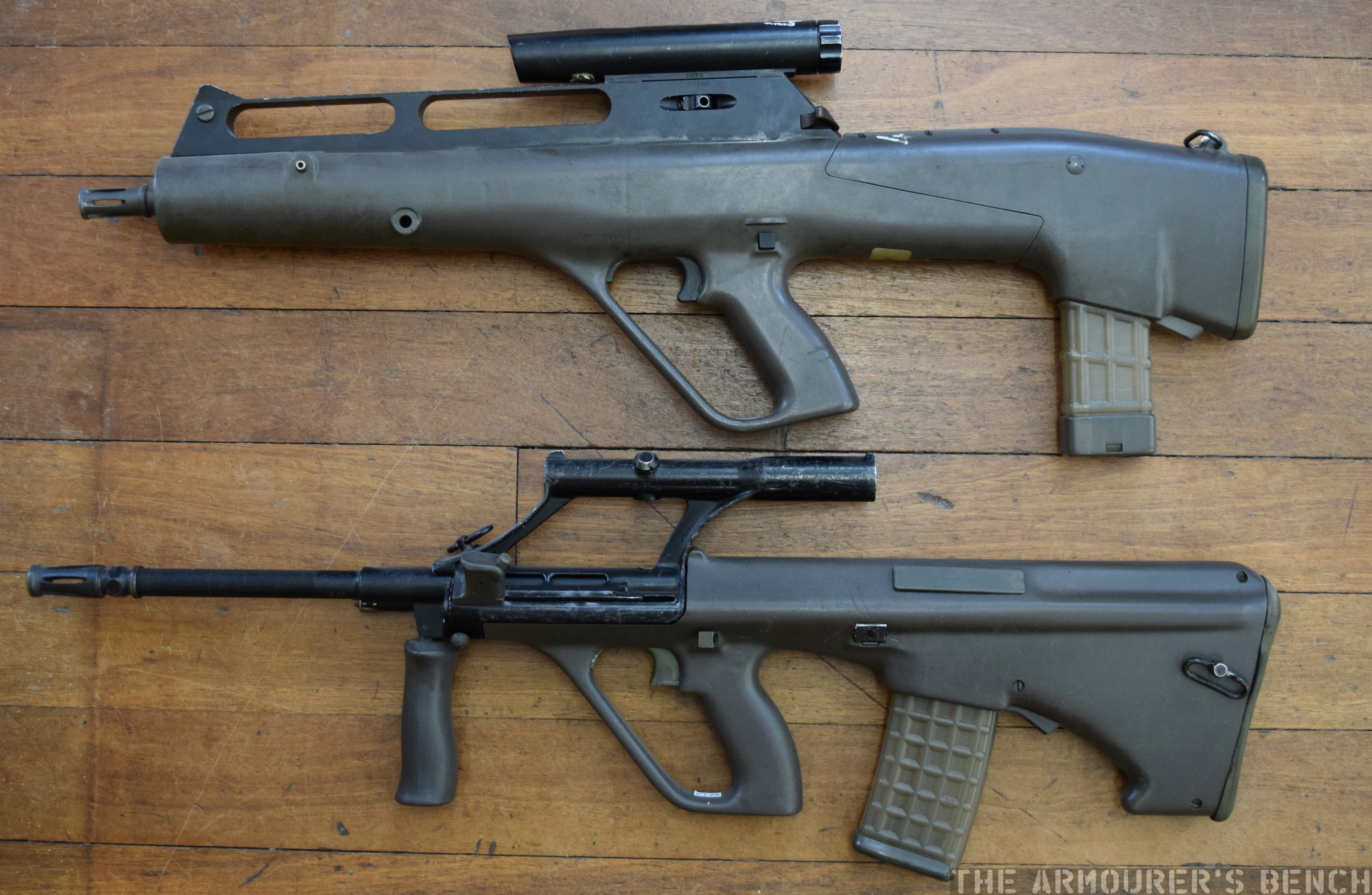Steyr Advanced Combat Rifle The Armourers Bench