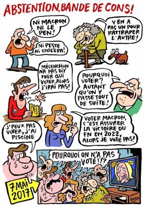 """Tavola di Coco per """"Charlie Hebdo"""", 3 maggio 2017."""