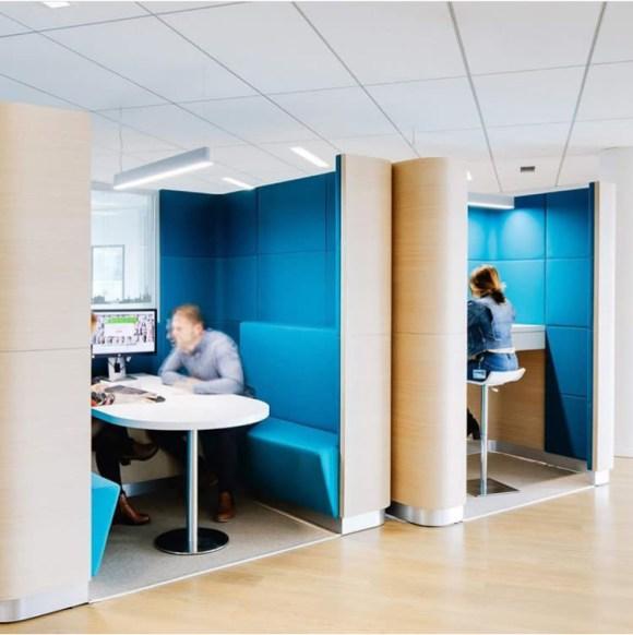 atelierTachas crédit agricole banque lagord dragonRouge agencement design menuiserie espace mobilierDesign france amenagement