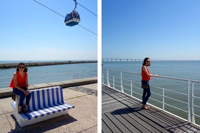 Blog Tache de Rousseur - Lisbonne look top mango (7)