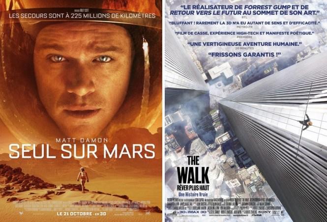 Ciné - Seul sur Mars - The Walk