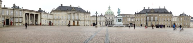 Copenhague Amalienborg