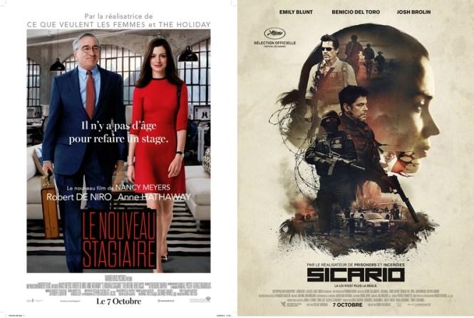 Le nouveau stagiaire x Sicario - Blog Tache de Rousseur