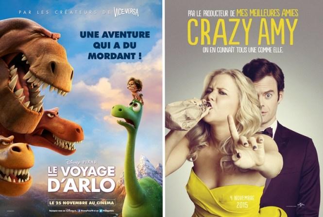 Chronique Ciinéma - Le Voyage d'Arlo + Crazy Amy