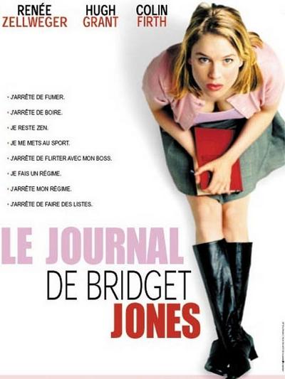 Blog Tache de Rousseur - Mes comédies romantiques préférées - Le journal de Bridget Jones