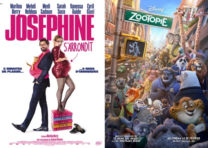 Chronique Cinéma - Joséphine s'arrondit+ Zootopie