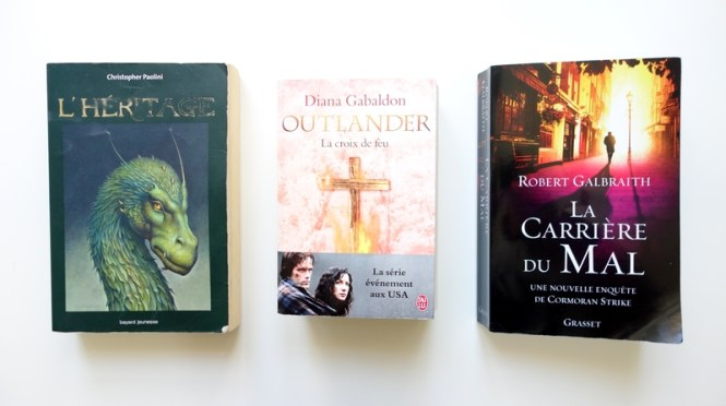 Mes lectures #7 Eragon, Outlander et Cormoran Strike - Tache de Rousseur, Blog beauté naturelle, voyages et lifestyle