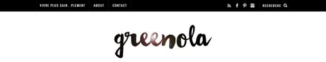 Tache de Rousseur - Mes 10 blogs Green préférés - Greenola