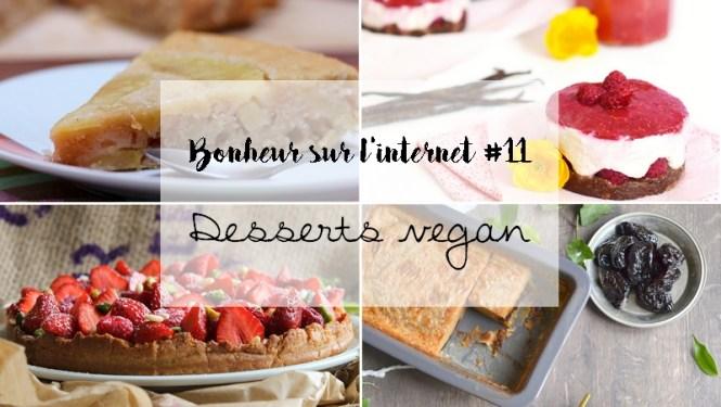 Bonheur sur l'internet - Desserts Vegan - Tache de Rousseur, blog beauté naturelle et lifestyle