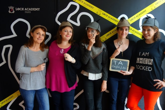 Escape Game Paris Lock Academy - Blog Tache de Rousseur