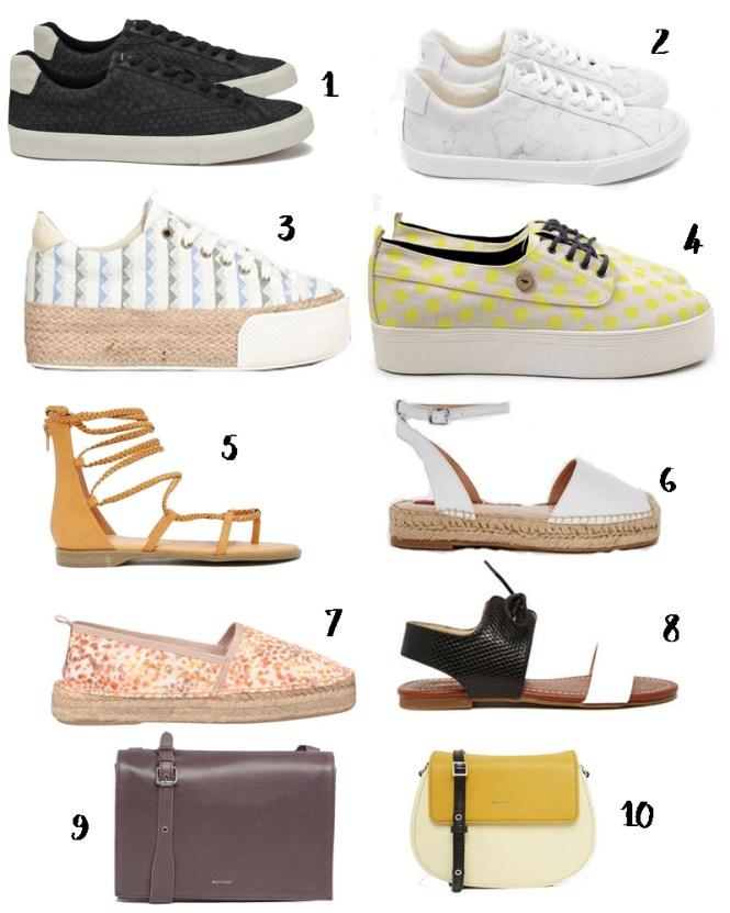Sélections soldes printemps-été 2016 - accessoires sacs et chaussures vegan