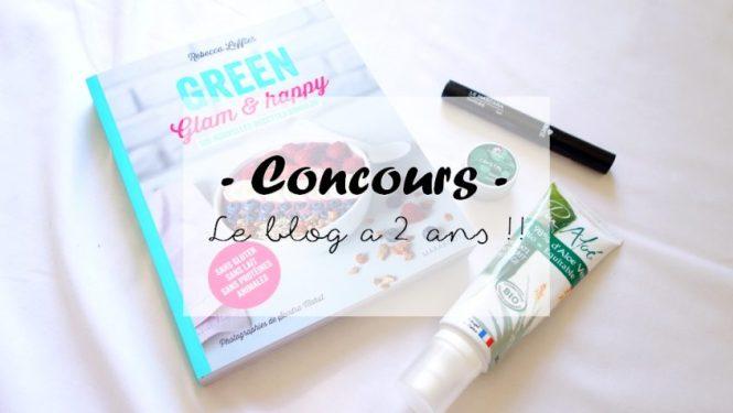 CONCOURS - Le blog a 2 ans !!