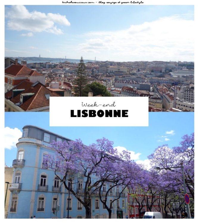 Un week-end pour visiter Lisbonne - Juin 2018 - Blog voyage et green lifestyle