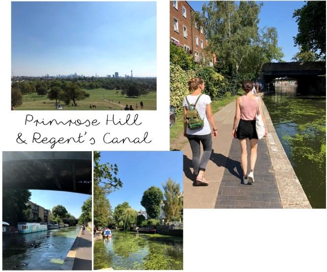 Un long week-end à Londres - Primrose Hill et Regent's Canal