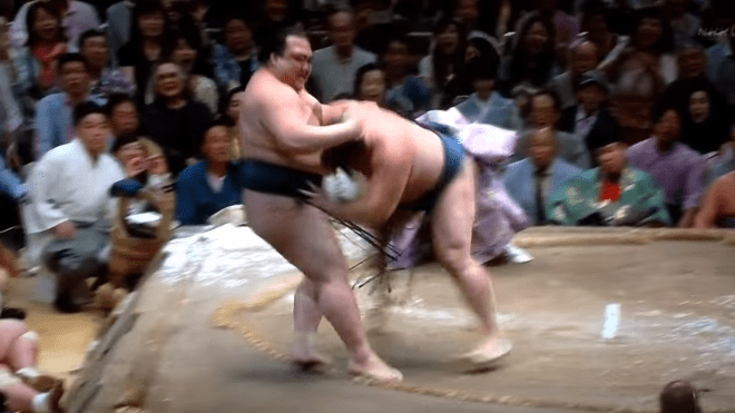 Kisenosato's (Remote) Yusho Hopes Dashed